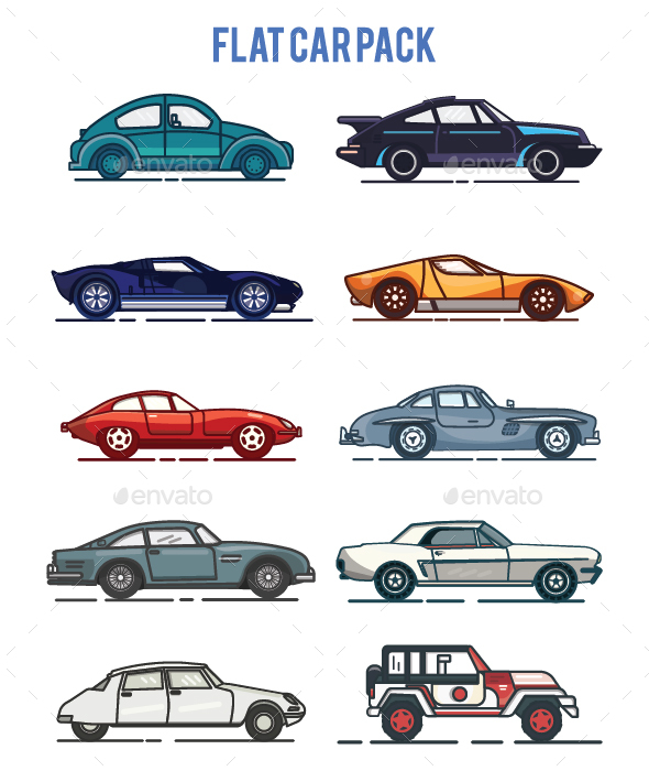 Flat Car Pack
