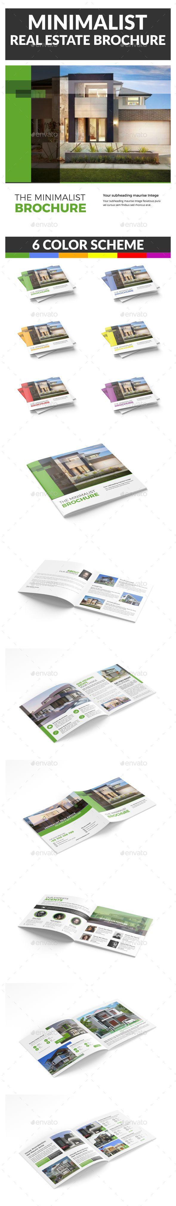 Minimalist Real Estate Brochure - Catalogs Brochures