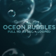 Ocean Bubble Background