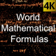 World Mathematical Formulas 02 - VideoHive Item for Sale