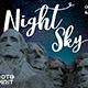 Night Sky Background Overlays - GraphicRiver Item for Sale