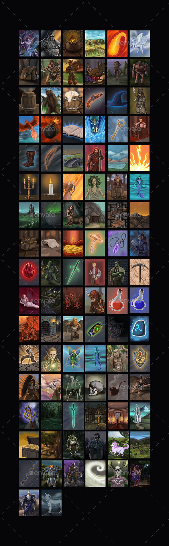 TCG Illustrations - Miscellaneous Game Assets