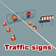 Traffic signs (reconstruction)