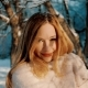 Outdoor Winter Portrait of Young Woman - VideoHive Item for Sale