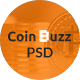 CoinBuzz - PSD Template - ThemeForest Item for Sale