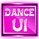 Pink Dance Game UI