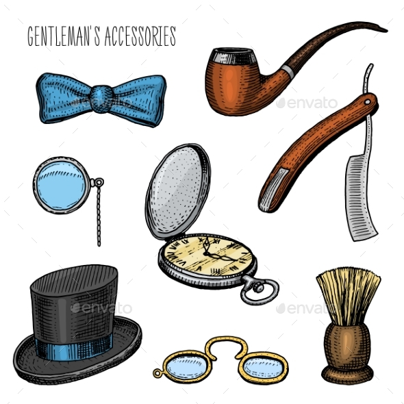 Gentleman Accessories - Man-made Objects Objects