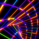 Neon Grid Tunnel - VideoHive Item for Sale