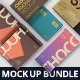 Chocolate Packaging Mockup Bundle