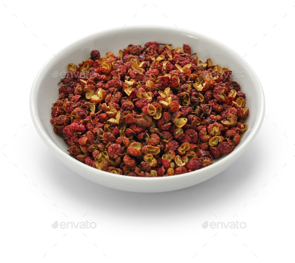 red sichuan pepper - Stock Photo - Images