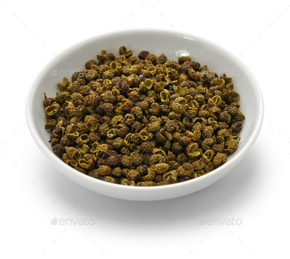 green sichuan pepper - Stock Photo - Images