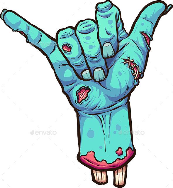 Hang Loose Zombie
