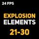 Liquid Elements Explosions 21-30