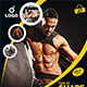 Gym | Fitness Flyer & Rollup Bundle