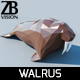 Lowpoly Walrus 001 - 3DOcean Item for Sale