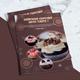 Cupcake Bi-Fold Menu Template