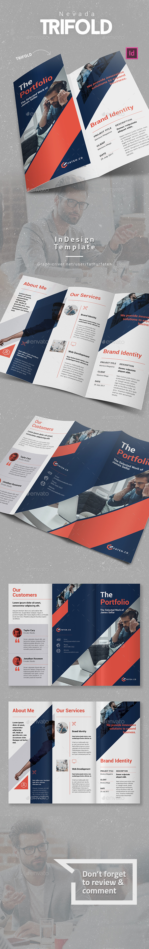 Nevada Trifold - Corporate Brochures