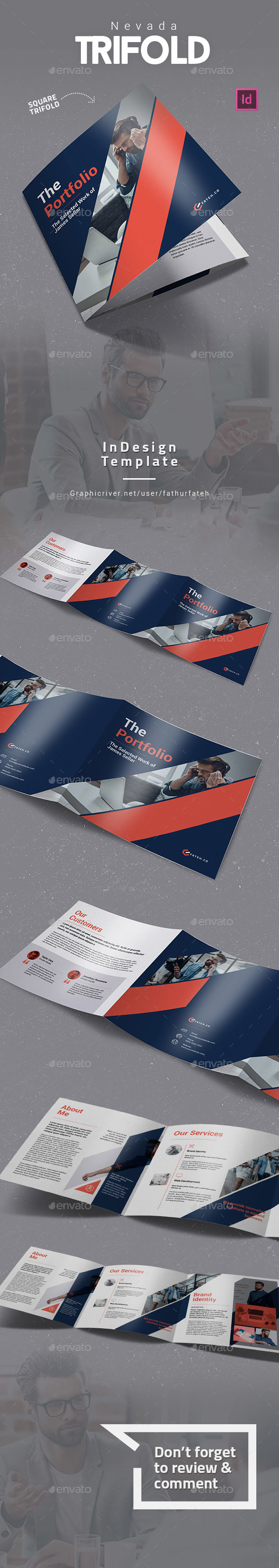 Nevada Square Trifold - Corporate Brochures