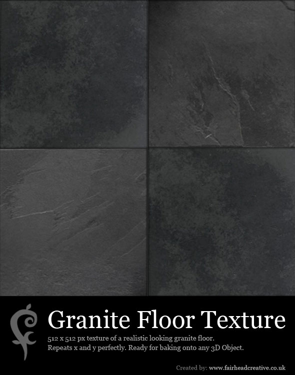 Granite Floor Texture - 3DOcean Item for Sale
