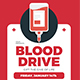 Blood Drive Event Flyer