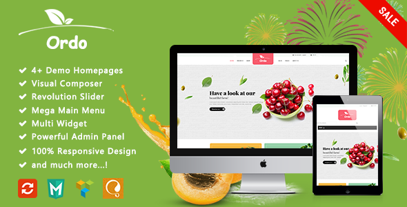 Ordo - Organic Responsive WooCommerce WordPress Theme