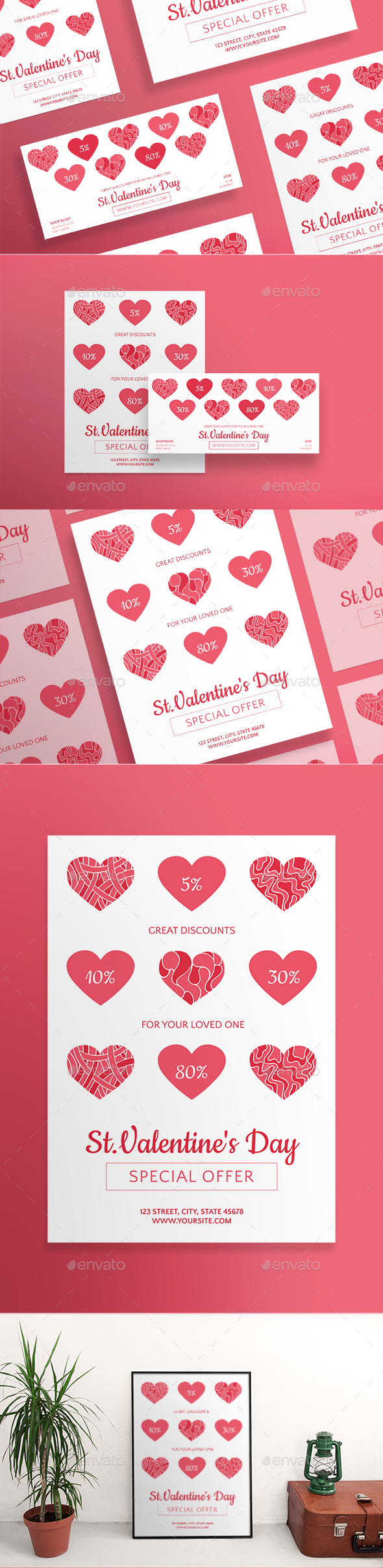 Valentine's Day Flyers - Holidays Events
