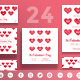 Valentine's Day Social Media Pack - GraphicRiver Item for Sale