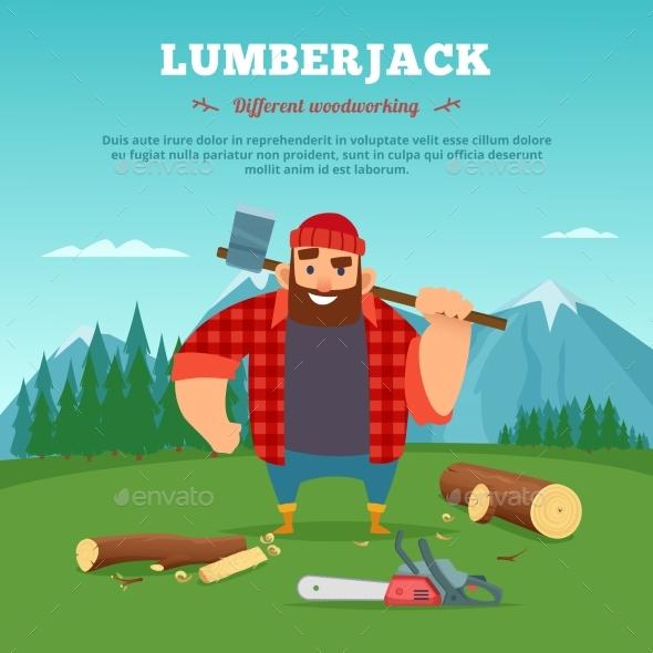 Lumberjack - People Characters