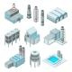 Set of Industrial or Factory Buildings.