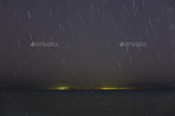 Islands Under Stars, Antigua - Stock Photo - Images