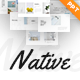 Native Minimalist PowerPoint Template - GraphicRiver Item for Sale