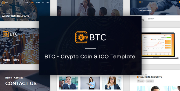 Image of BTC - Crypto Coin & ICO Template