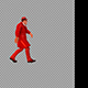 Man In A Red Cloak - VideoHive Item for Sale