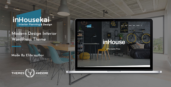 Inhousekai | Modern Design Interior WordPress Theme