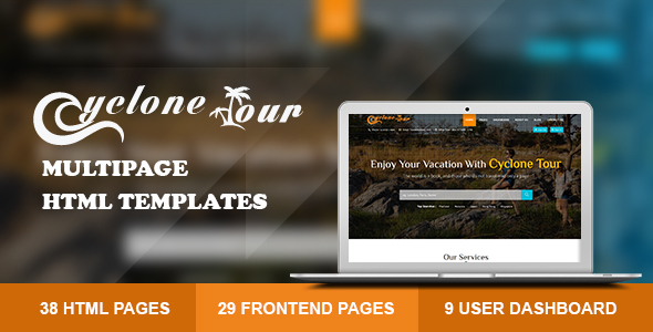 Image of Cyclone Tour - HTML Travel Agency