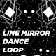 Line Mirror Dance - VideoHive Item for Sale