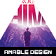 Through Him Church Flyer - GraphicRiver Item for Sale