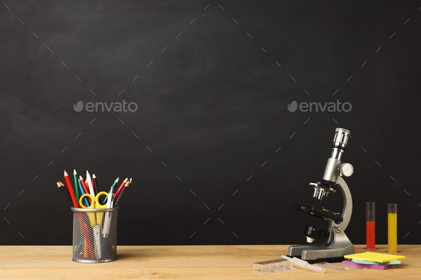 Back to school conceptual background - Stock Photo - Images