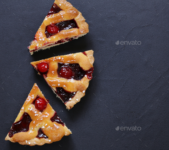 Cherry Pie - Stock Photo - Images