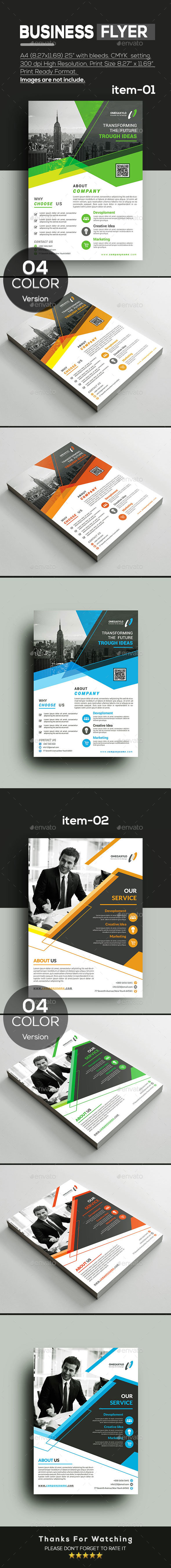 Flyer Bundle 2 In 1 - Corporate Flyers