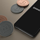 Phone X Mockup with Bitcoin - GraphicRiver Item for Sale