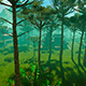 Panorama Of The Green Valley - VideoHive Item for Sale