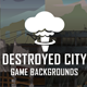 Parallax Destroyed City Backgrounds