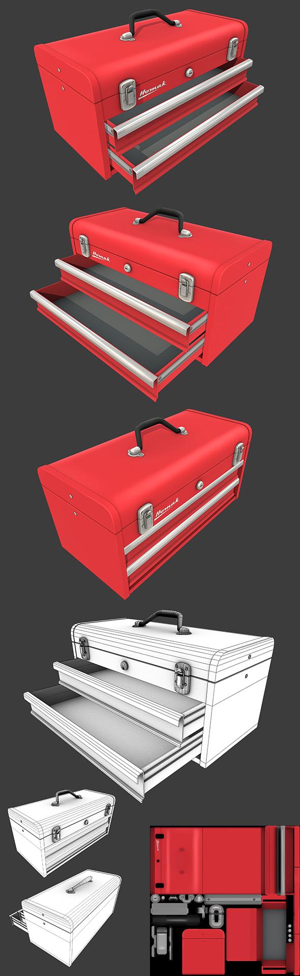 Toolbox - 3DOcean Item for Sale
