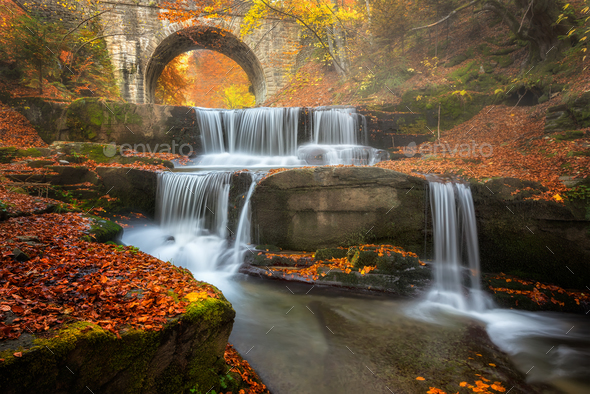 Autumn river - Stock Photo - Images