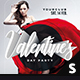 Valentine's Day Party Facebook Cover - GraphicRiver Item for Sale