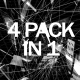 Abstract Black and White Loops Pack - VideoHive Item for Sale