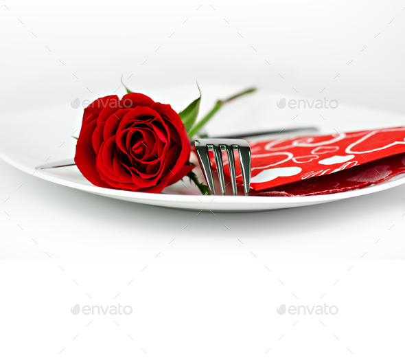 Valentine's day decoration - Stock Photo - Images
