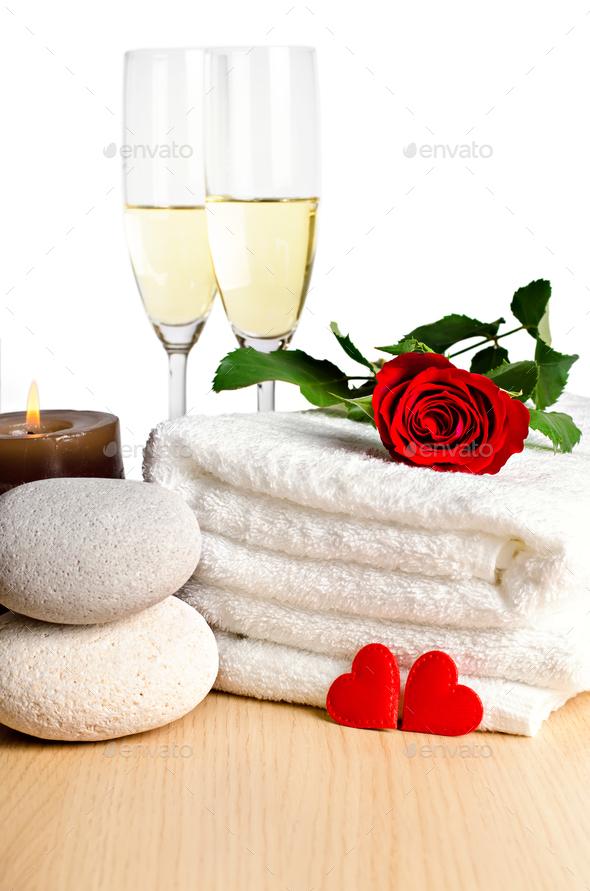 Valentine's day decoration - Stock Photo - Images