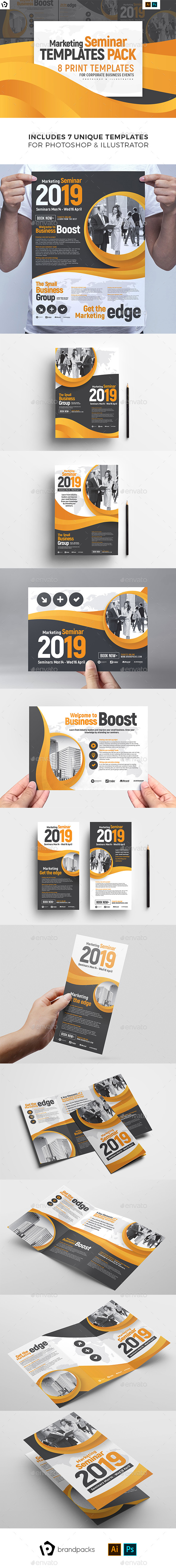 Corporate Event Templates Bundle - Corporate Flyers